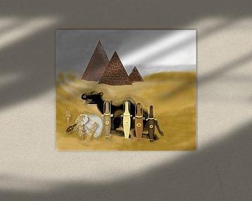 Desert- Perfume Pottery von Annaluiza Dovinos