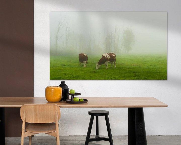 Sfeerimpressie: Good misty morning ... van Marc de IJk
