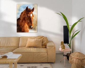 paardensportbeoefening #paard van JBJart Justyna Jaszke