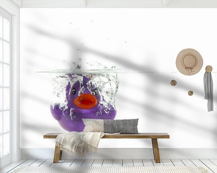 Sfeerimpressie behang: Duik in het diepe van Elly van Veen