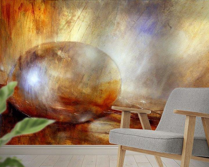 Sfeerimpressie behang: hersenbloeding van Annette Schmucker