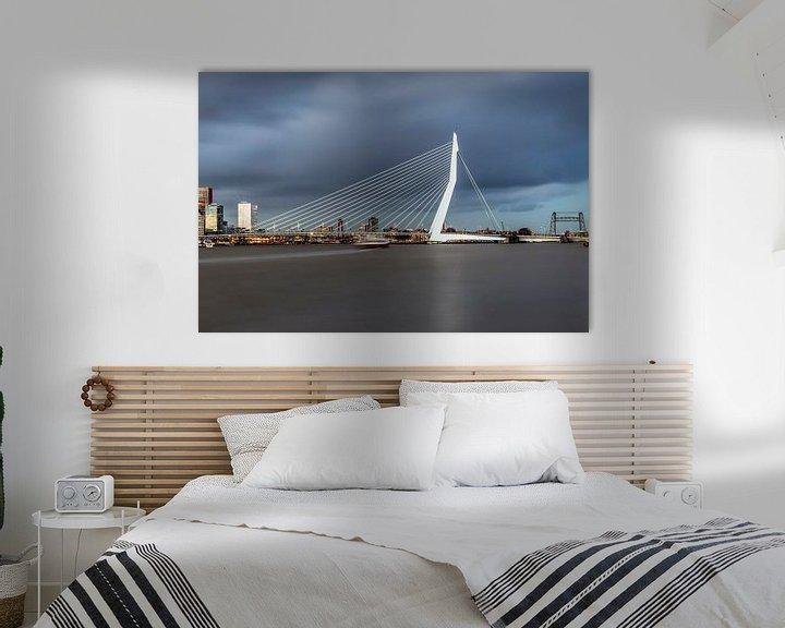 Impression: La belle et impressionnante ligne d'horizon de Rotterdam sur Miranda van Hulst