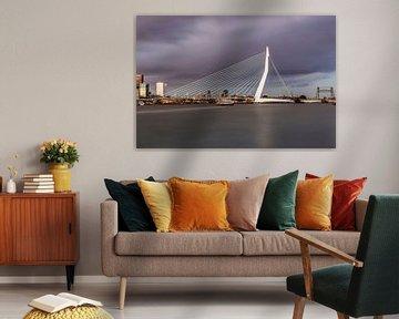 Die schöne und beeindruckende Skyline von Rotterdam II