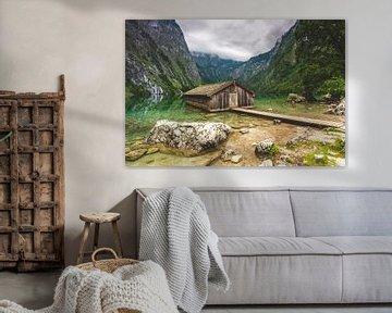 Boothuis aan de Obersee van Salke Hartung
