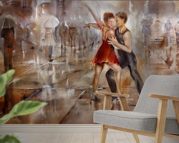 Beispiel fototapete: Its raining again von Annette Schmucker