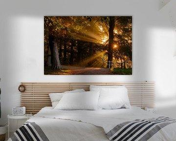 Sunrise (2017) van Ronald Smeets Photography