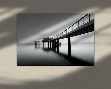 De pier bij Timmendorfer Strand van Marc-Sven Kirsch