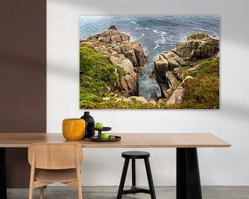 Cornwall - Penzance rotsen van Marly De Kok