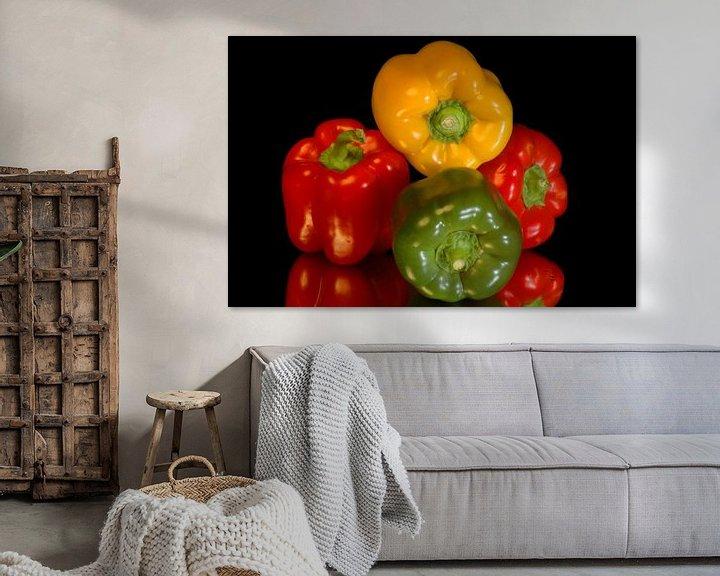 Sfeerimpressie: Paprika,s Groente van Brian Morgan