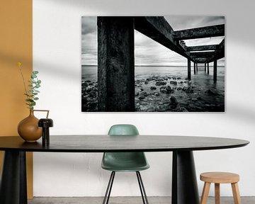 Onder de houten loopbrug van Marc-Sven Kirsch