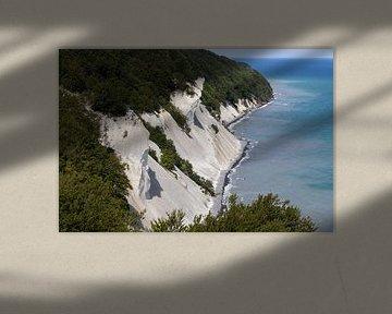 Krijtrotsen van Møns Klint in Denemarken van Tot Kijk Fotografie: natuur aan de muur
