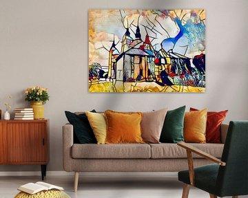 Kandinsky ontmoet Kopenhagen 7 van zam art