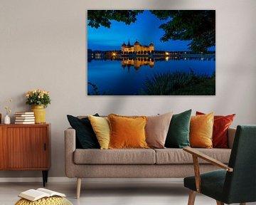 Schloss Moritzburg zur blauen Stunde
