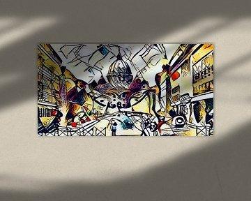 Kandinsky ontmoet Rome 5 van zam art
