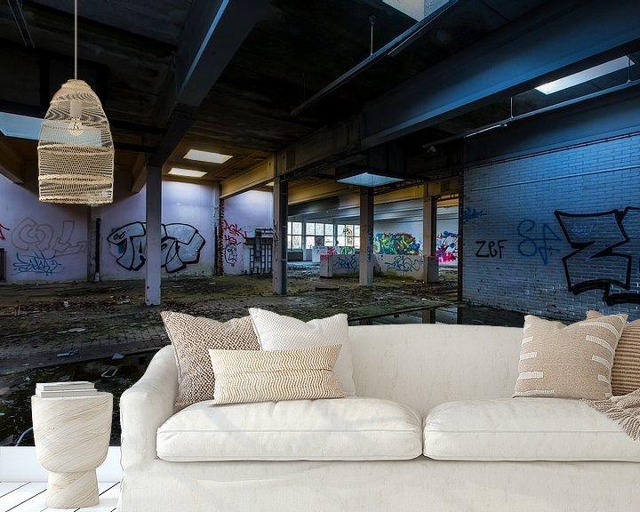 Impression: Bâtiment abandonné (Pays-Bas) sur Marcel Kerdijk