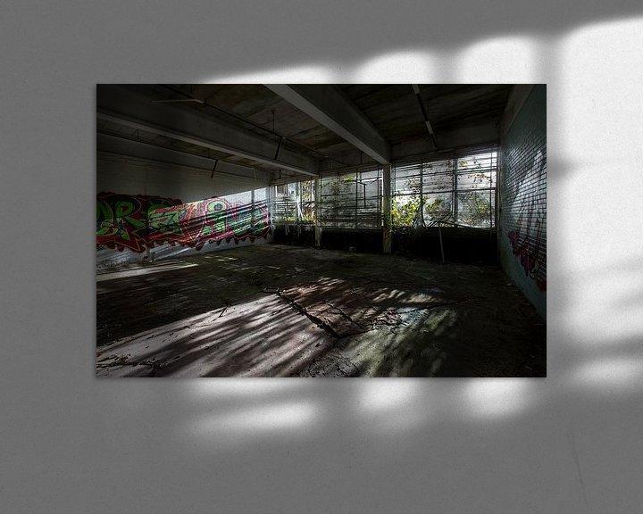 Beispiel: Verlassenes Gebäude (Niederlande) von Marcel Kerdijk