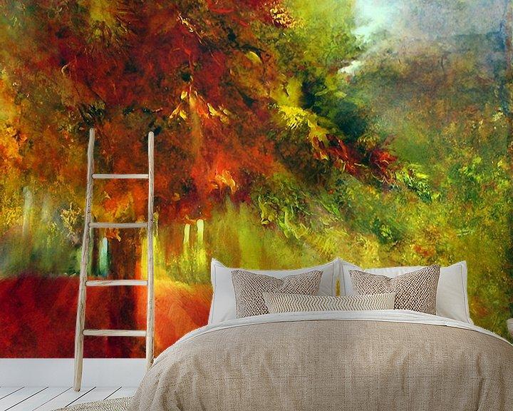 Beispiel fototapete: Herbst von Annette Schmucker
