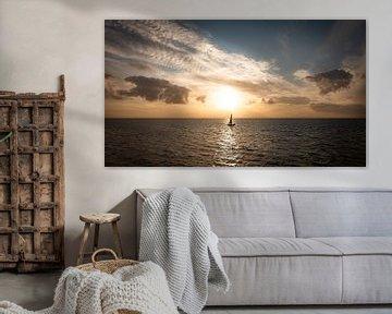 Sailing home van Richard van der Zwan