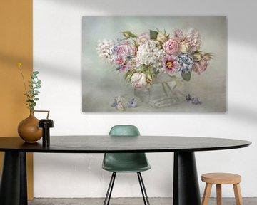 Flower Romantic - spring awakening von Lizzy Pe