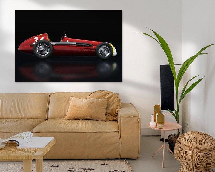 Beispiel: Alfa Romeo 158 Alfetta Seitliche Ansicht von Jan Keteleer