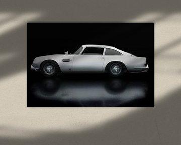 Aston Martin DB5 Zijaanzicht