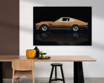 Aston Martin Vantage 1977 Vue latérale