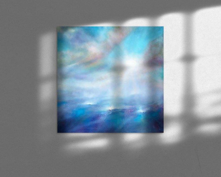 Beispiel: Himmelblau von Annette Schmucker