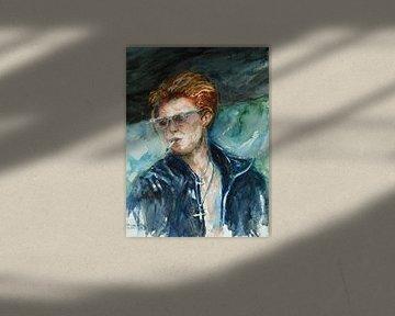 David Bowie von Ineke de Rijk