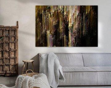 Fallende Leuchtstreifen von Inge Heathfield