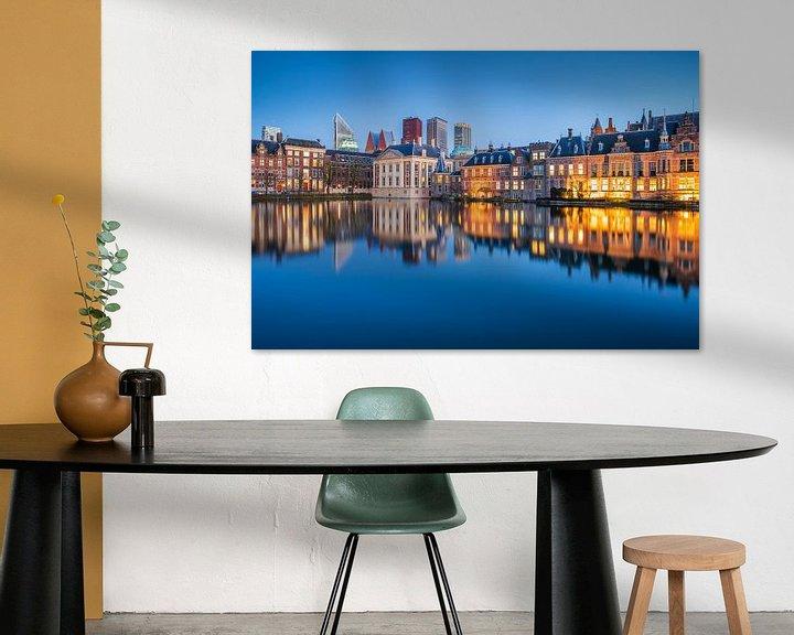 Beispiel: Hofvijver mit Innenhof in Den Haag von Eelco de Jong