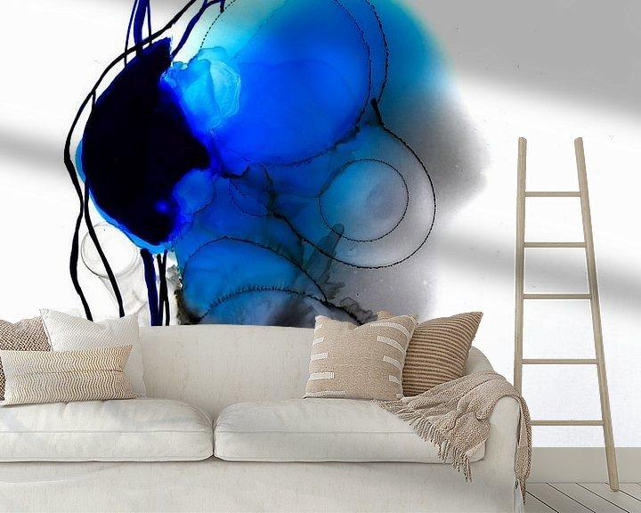 Beispiel fototapete: Seelenorgan 1 von Katarzyna Strumis