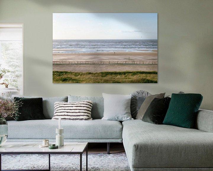 Sfeerimpressie: Kustlijn Zandvoort van Koen van der Lee