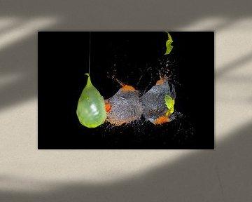 Geel en Oranje van Rob Hansum