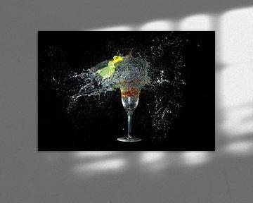Geel in glas van Rob Hansum
