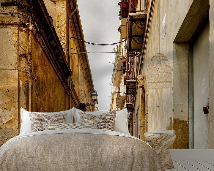 Sfeerimpressie behang: steegjes Italie - 9 van Dick Jeukens