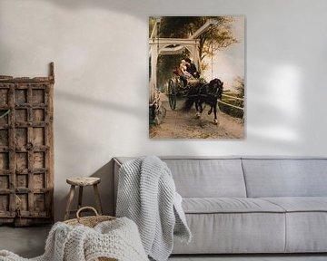chevaux et charrettes anciens maîtres sur Geertjan Plooijer