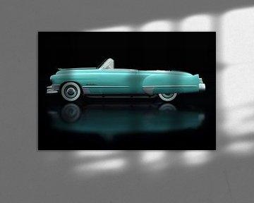 Cadillac Deville 1948 Seitenansicht von Jan Keteleer