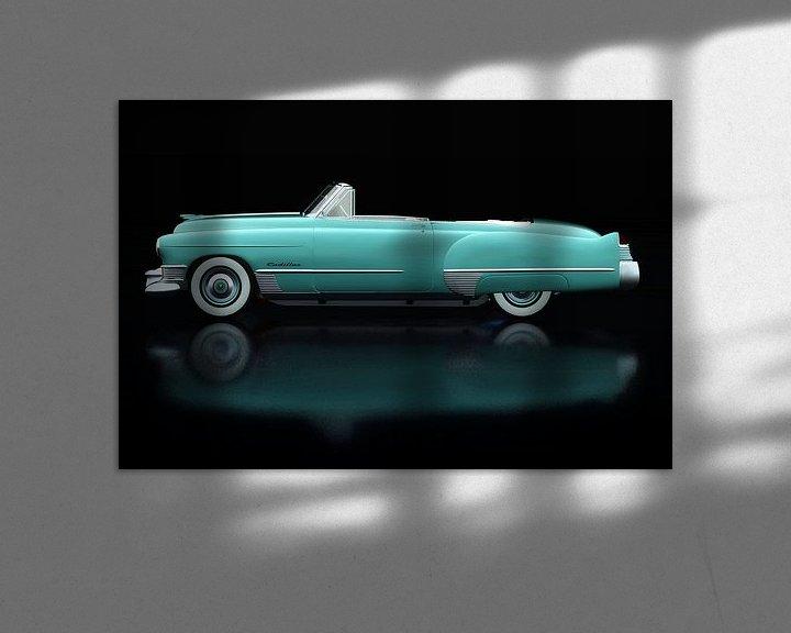 Sfeerimpressie: Cadillac Deville 1948 Zijaanzicht van Jan Keteleer