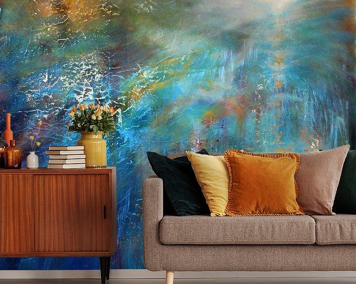 Beispiel fototapete: Another blue morning von Annette Schmucker