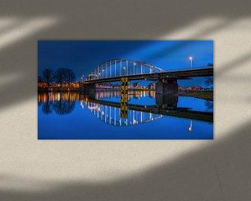 Wilhelmina-Brücke Deventer, Niederlande von Adelheid Smitt
