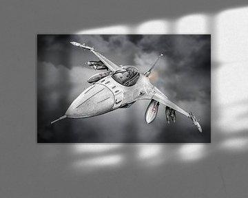 F-16 - Düsenjäger von Willem Heemskerk