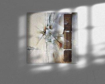 Abstracte samenstelling in het wit