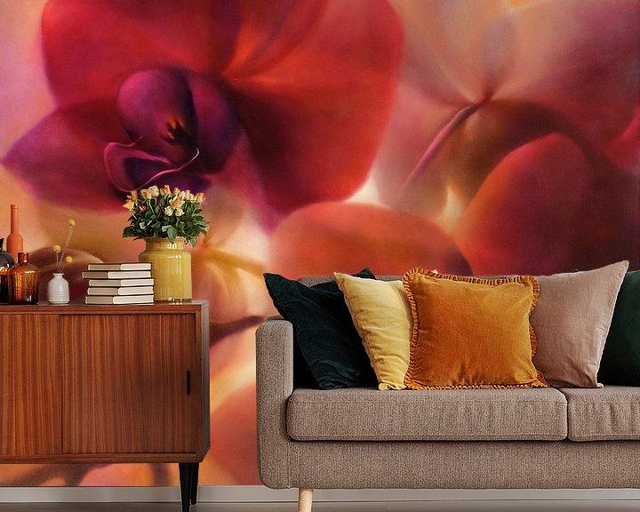 Beispiel fototapete: Orchideen von Annette Schmucker