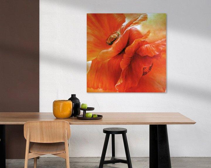 Beispiel: Roter Mohn von Annette Schmucker