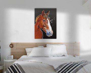 Pferd Tier Kunst #Pferd von JBJart Justyna Jaszke