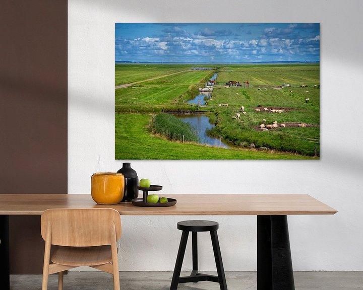 Beispiel: Blick auf Ameland von Manon van Althuis