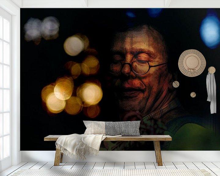 Sfeerimpressie behang: Hands on Music - 5 van Dick Jeukens
