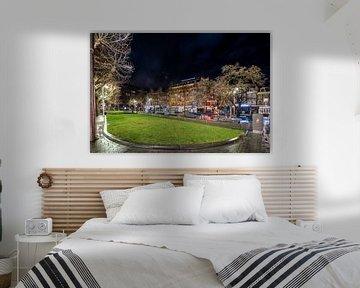 Avondklok in Amsterdam - Rembrandtplein