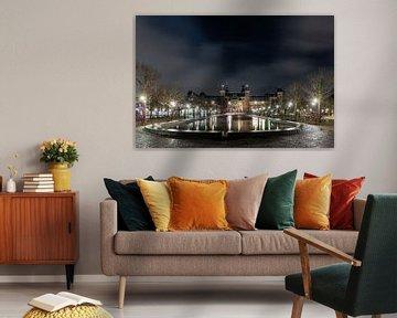 Couvre-feu à Amsterdam - Rijksmuseum sur Renzo Gerritsen