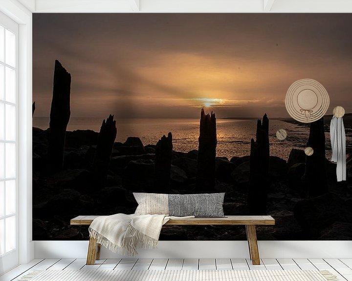 Impression: lever du soleil Escaut oriental sur Marjolein Albregtse
